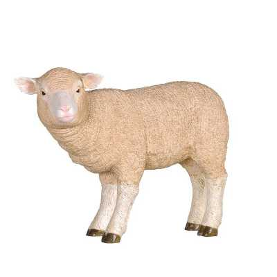 Decorative Novelty Standing Merino Lamb