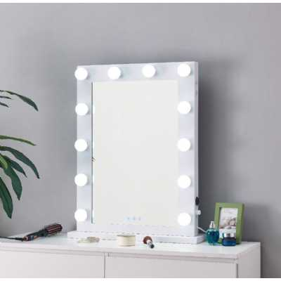 Desktop Hollywood Mirror White