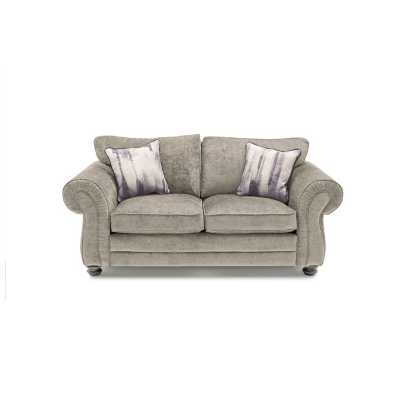 Hollins 2 Seater Fixed Mink (2 scatter cushions)