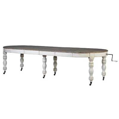 Oval Ext Dining Table