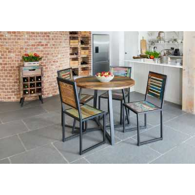 IRF04E Baumhaus Urban Chic Round Dining Table (100cm x 100cm)