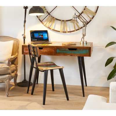 IRS06A Baumhaus Coastal Chic Laptop Desk Dressing Table