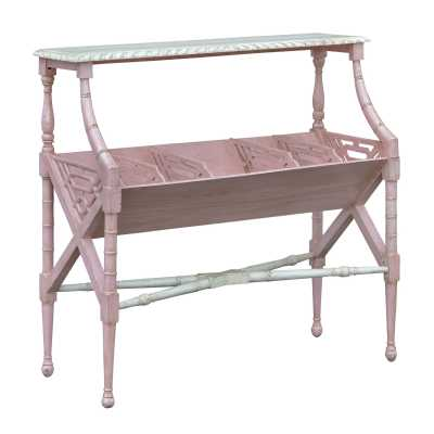Isabella Blush Magazine Rack