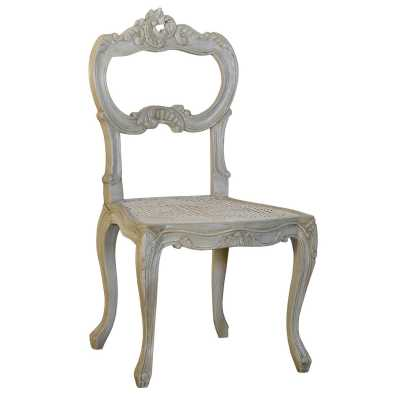 Isabella Grey Shabby Chic French Style Dining Chair
