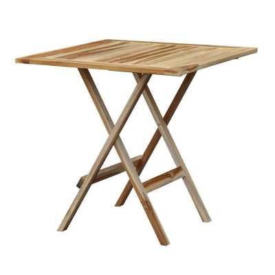 T Square Folding Table