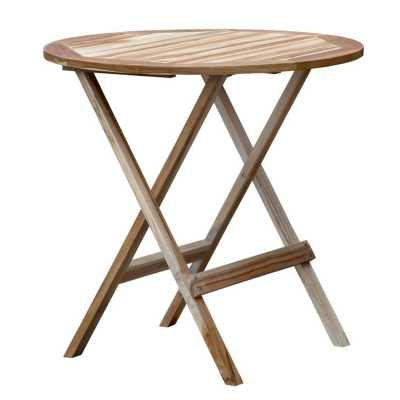 T Round Folding Table