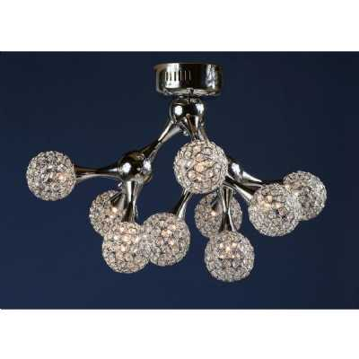 Contemporary Crystal Ball Chandelier