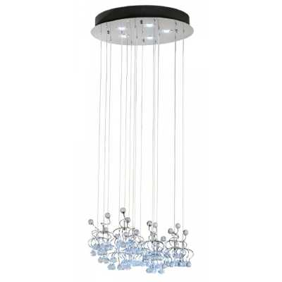 Contemporary Cascading Chandelier