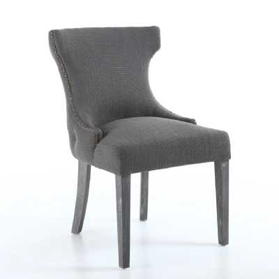 Luxford Antique Grey Accent Chair