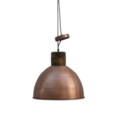 Railway Leather Furniture Copper Coulred Pendant Ceiling Light