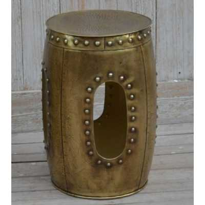 Eclectic Furniture Small Decorative Metal Stool
