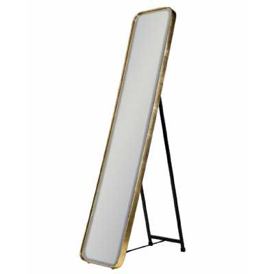 Gold Framed Arden Cheval Dressing Mirror Full Length Floor Standing