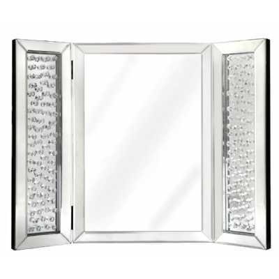 Glass Gems Vanity Mirror