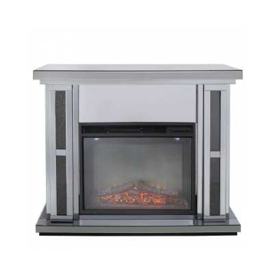 Storm Diamond Fire Surround With Electric Fire set