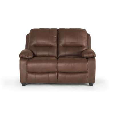 Morley 2 Seater Fixed Dark Brown