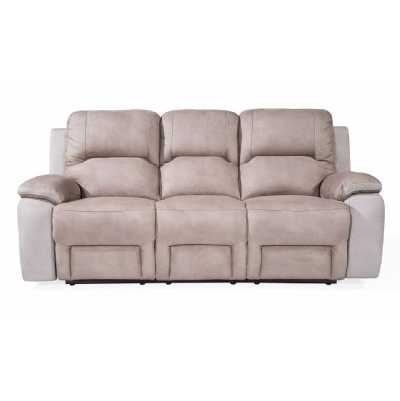 Monterray 3 Seater Recliner Grey