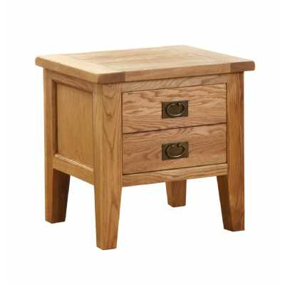 Vancouver Petite 1 Drawer Lamp Table