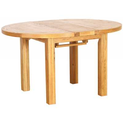 Vancouver Petite Round Extension Dining Table 1.1 1.4