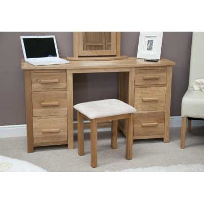 Opus Twin Pedestal Dressing Table and Stool
