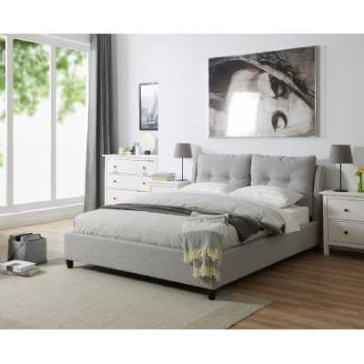 5ft King Oslo Bed Grey