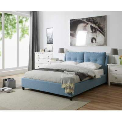 4.6ft Double Oslo Bed Blue