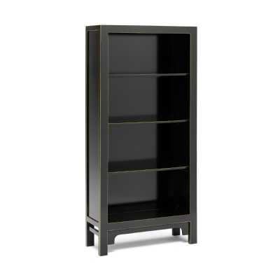 PCB01A Baumhaus The Nine Schools Qing Black and Gilt Large Bookcase