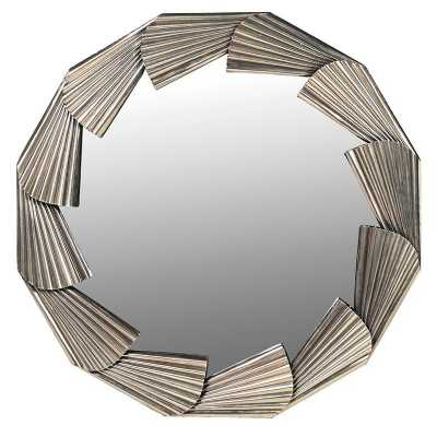 Fan Framed Mirror
