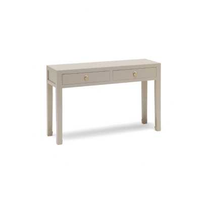 PCO02D Baumhaus The Nine Schools Qing Oyster Grey Large Console Table