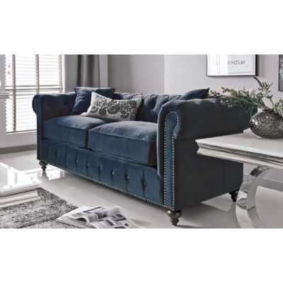 Porter 2 Seater Velvet Midnight