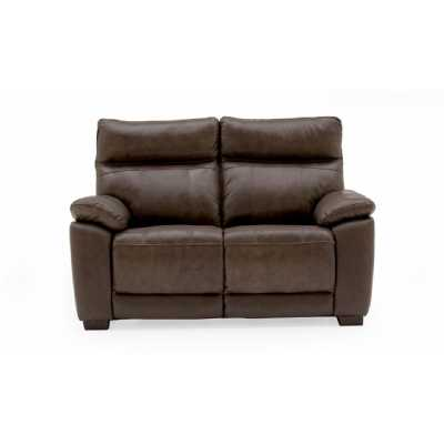 Positano 2 Seater Fixed Brown