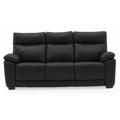 Positano 3 Seater Fixed Black
