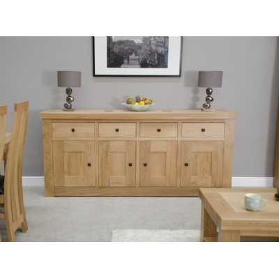 Bordeaux 4 door 4 drawer sideboard