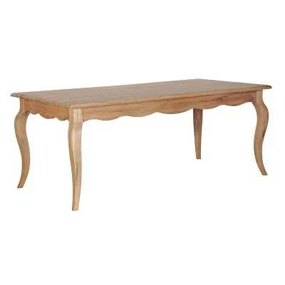 Large Weathered Oak Dining Table