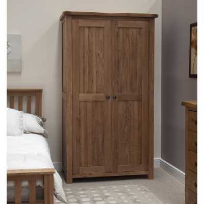 Rustic Oak Wardrobe