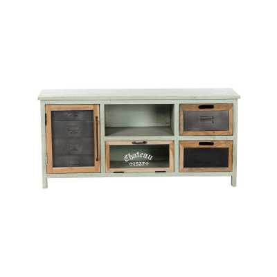 Artisan 2 Drawer TV Unit with 2 Door And 1 Shelf