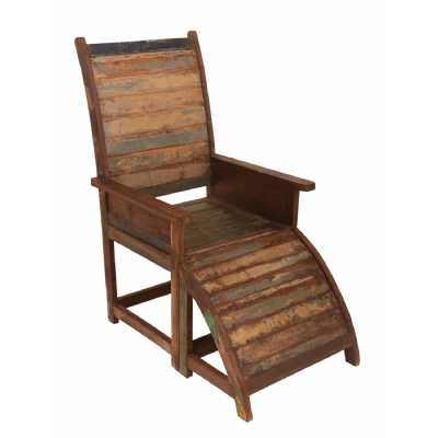Upcycled Originals Reclaimed Wood Relaxer Chair