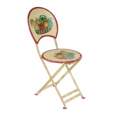 Upcycled Originals Vintage Iron Painted Chair