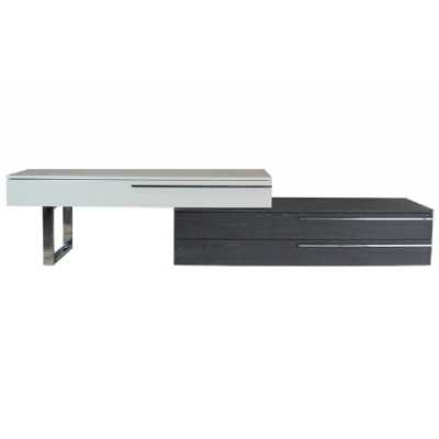 Alexis TV Unit White And Grey