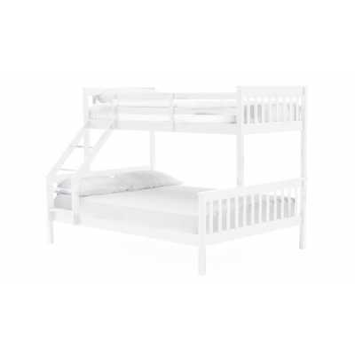Salix Bunk Bed 3' and 4'6 White
