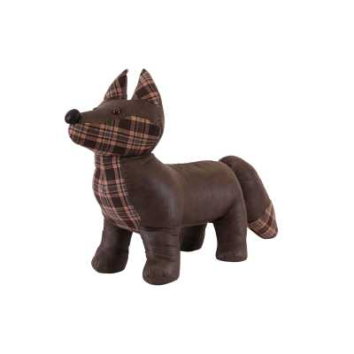Animal Ottomans Tartan Fox