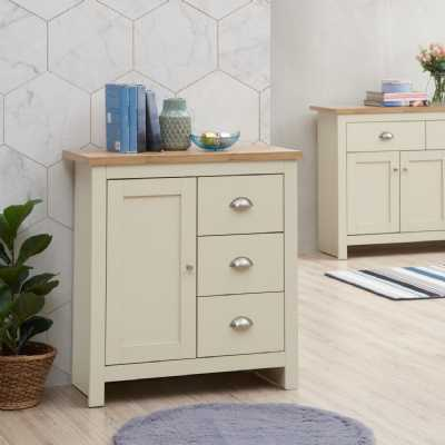 Sideboard With 1 Door And 3 Drawers