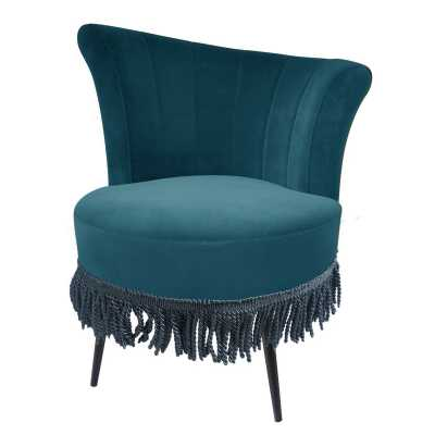 Rita Cocktail Chair Teal