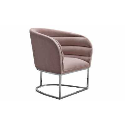 Upton Accent Chair Blush