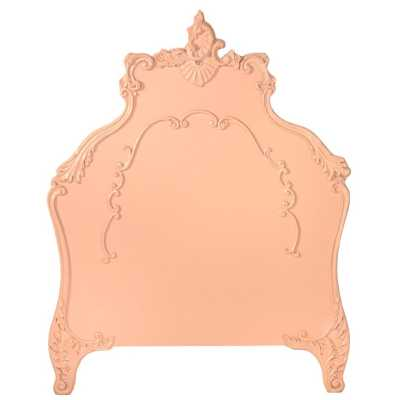 French Style Pink Girls Single Shabby Chic Headboard