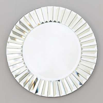 Santorini Sunshine Venetian Bevelled Mirror Small
