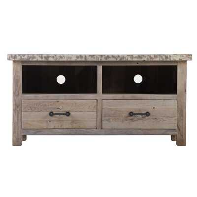 Cal Stadium TV Unit With 2 Drawers
