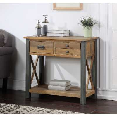 Urban Elegance Reclaimed Small Console Table