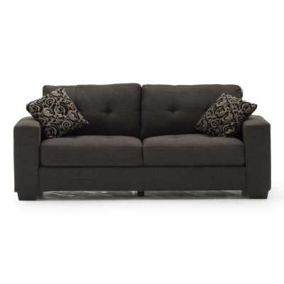 Vivaldi 3 Seater Grey (2 scatter cushions)