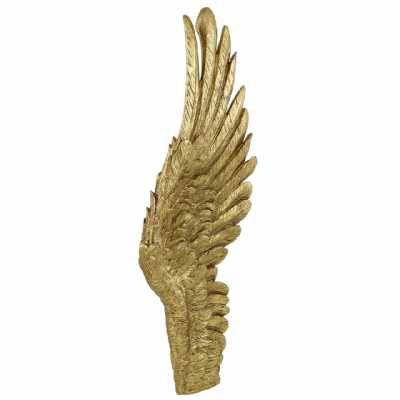 Right Gold Angel Wing Wall Decoration