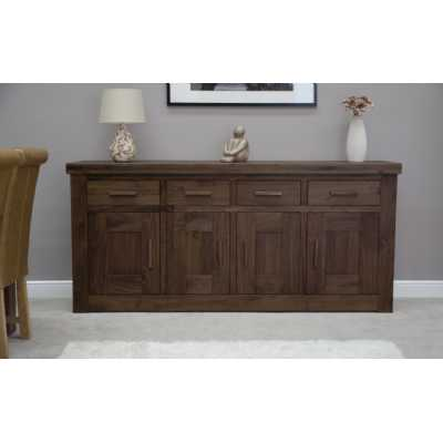Walnut 4 Door Sideboard